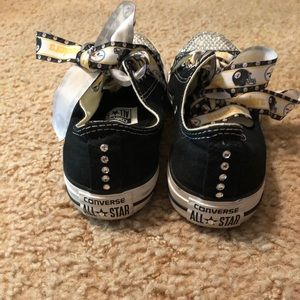 691ab9705bc Converse Shoes - Pittsburgh Steelers custom made shoes Converse